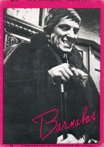 "A ""Dark Shadows"" trading card from PGC. This one is from Series 1 (1968). [© Dan Curtis Productions]"
