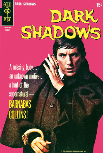 Gold Key's Dark Shadows #2 (1969). [© Dan Curtis Productions]
