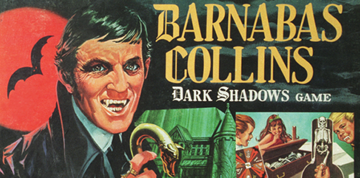 Milton Bradley's Barnabas Collins Dark Shadows Game (1969). [© Dan Curtis Productions]