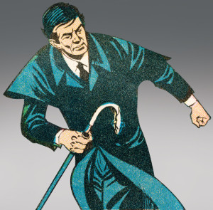 Barnabas in motion, as artist Joe Certa frequently depicted him, from Gold Key's Dark Shadows #15 (1972). [© Dan Curtis Productions]