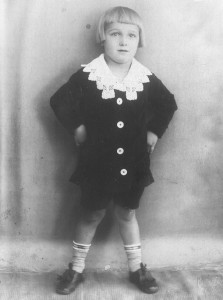 Kurt at 4, taken in the German farm village of Zella-Mehlis. (Courtesy Dorothy Schaffenberger)