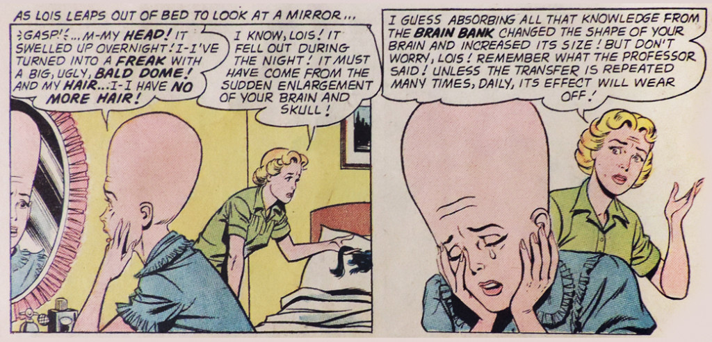 "The ""Lois Lane"" No. 27 scene that freaked me out as a lad. (© DC Comics)"