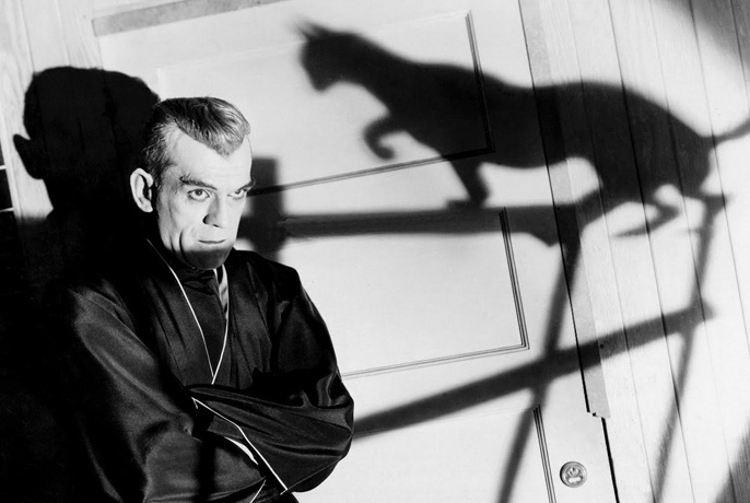 Karloff as Poelzig.