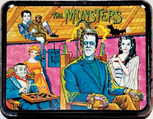 "King Seeley Thermos' ""Munsters"" lunchbox of 1965. [© Kayro-Vue Productions and ™ Universal Studios]"