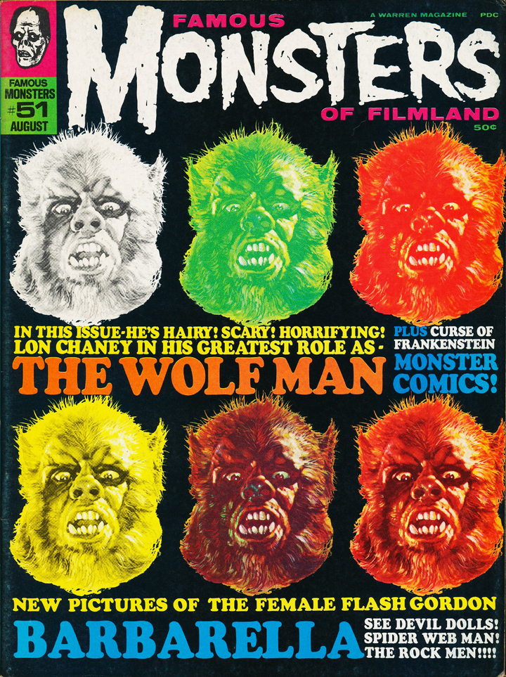 The first widespread knowledge of Boris Karloff's Mexican films came in issue #51 (Aug. '68) of Famous Monsters of Filmland magazine.