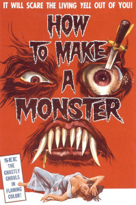 """The tongue-in-cheek """"How to Make a Monster"""" (1958) could have been titled """"Teenage Frankenstein Meet Teenage Werewolf."""""""