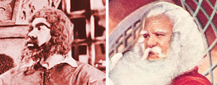 "Jose Elias Moreno played the Ogre in ""Little Red Riding Hood and the Monsters"" and the Jolly One in ""Santa Claus"" (1959)."