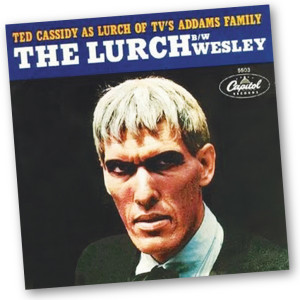 "Ted Cassidy performed ""The Lurch"" on ""Shindig"" surrounded by go-go dancers. It's as cringe-worthy as it sounds."