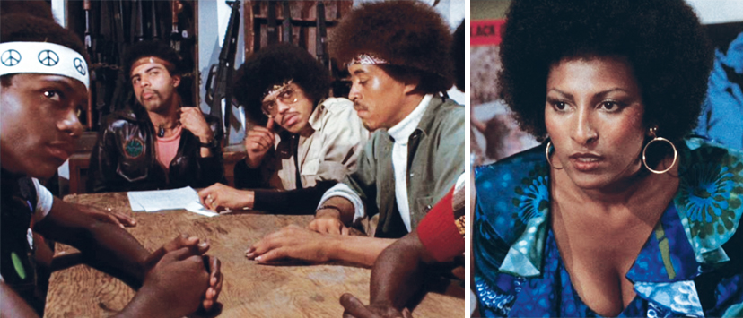 Coffy makes her case to a well-armed, self-appointed inner-city watchdog group.