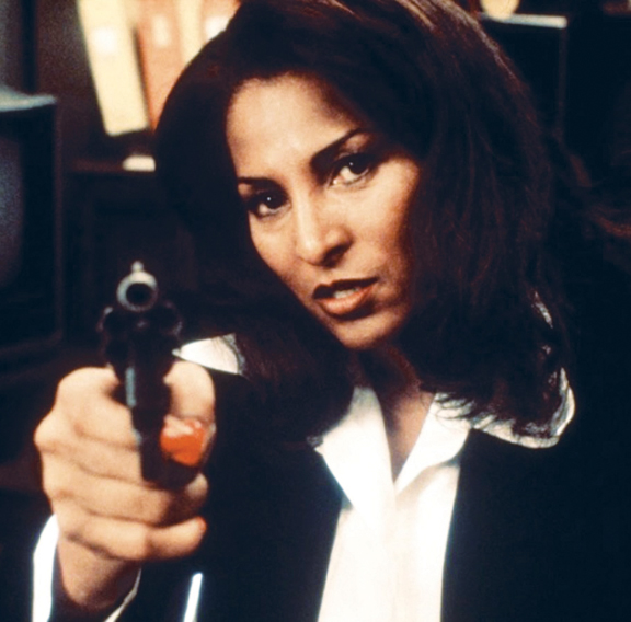 Pam Grier's Jackie Brown is a spiritual descendant of Coffy and Foxy Brown.