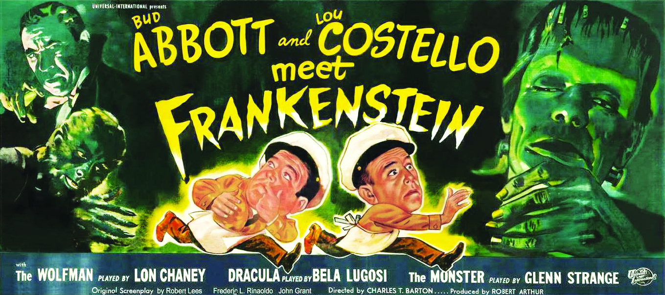 """Conventional monsters like Frankenstein — who was last seen in 1948 in 'Abbott and Costello Meet Frankenstein,' and then not seen again for many years — they were kind of marginalized."""