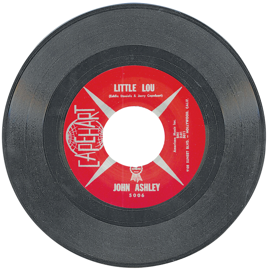 "Ashley's 1961 single, ""Little Lou."" (FYI, ""Lou"" is a girl.)"