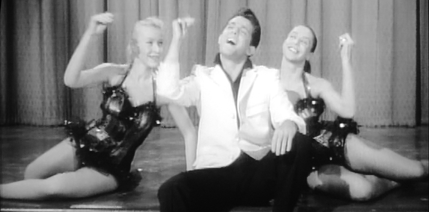 "Ashley and his lovely cohorts sing ""You Gotta Have Ee-oo"" in ""How to Make a Monster"" (1958)."