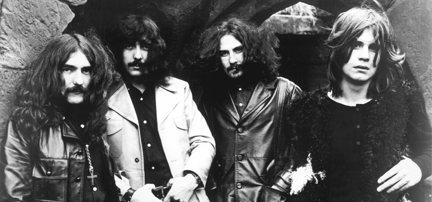 From left: Geezer Butler, Tony Iommi, Bill Ward and Ozzy Osbourne of Black Sabbath.