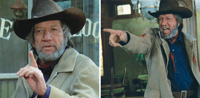 """I'll tell you that was for Albert!"" yells Mike Sweeney (Richard Boone) in the final shootout. Boone makes a lasting impression, though his character is only in two sequences."