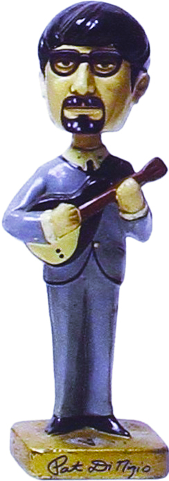 Pat DiNizio in Beatle-esque Bobblehead form.
