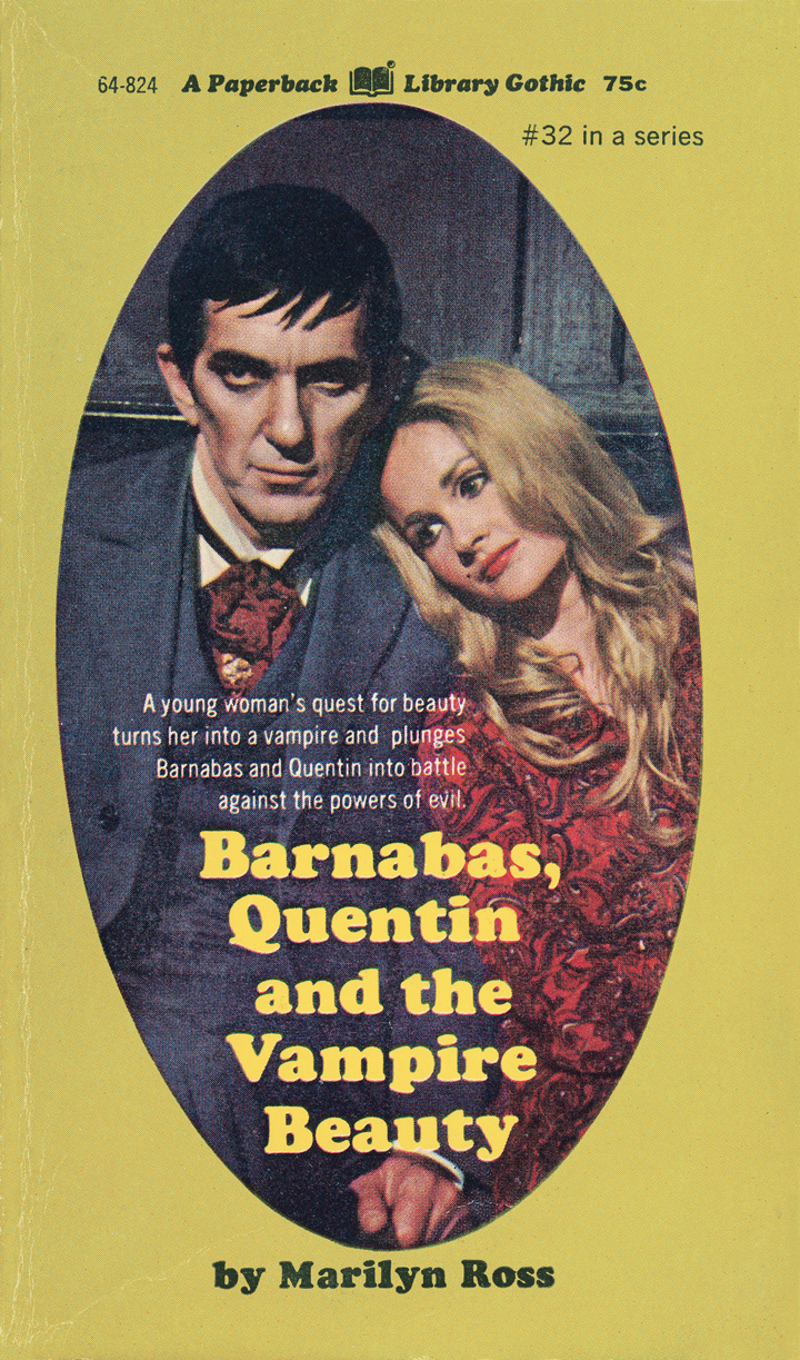 "The final novel in the ""Dark Shadows"" came out in 1972, the year after the series was cancelled."