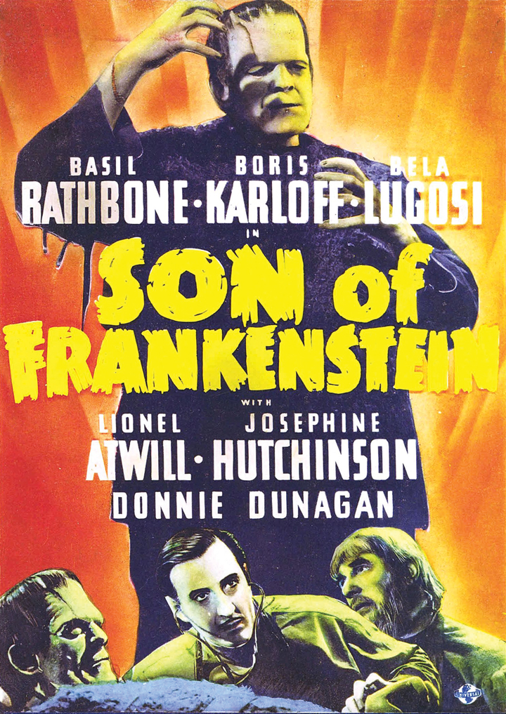 "Corley cited ""Son of Frankenstein"" (1939) has a monster movie that holds up to this day."