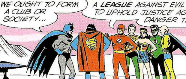 This is the moment! The Justice League is formed! And I could'a had it for a lousy 80 bucks!