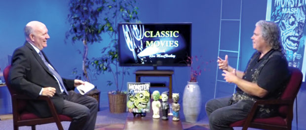 "Ron MacCloskey welcomed me as his guest on Edison TV's ""Classic Movies With Ron MacCloskey."""